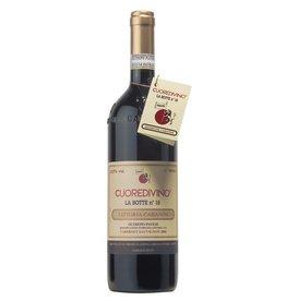"""Italian Wine Fattoria Cabanon """"Cuoredivino La Botte No 18"""" Provincia di Pavia Rosso 2015 750ml"""