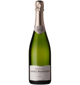 """Sparkling Wine Gonet-Medeville """"Tradition"""" Brut Champagne Premier Cru NV 750ml"""