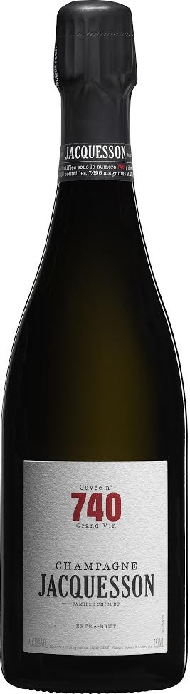 "Sparkling Wine Jacquesson ""Cuvée No 740"" Extra Brut 750ml"