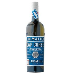 """Liqueur L.N/ Mattei """"Cap Corse"""" Quinquina Vin Aperitif Blanc 750ml"""