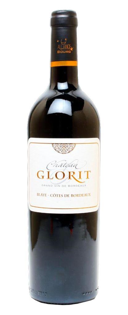 French Wine Chateau Glorit Blaye-Cotes de Bordeaux 2012 750ml