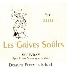 "French Wine Domaine Perrault-Jadaud Vouvray ""Les Grives Soules"" 2016 750ml"