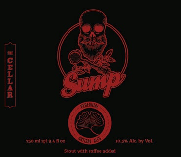 """Beer Perennial Artisan Ales """"Sump"""" Imperial Stout with Sump """"Los Rosales"""" Coffee 750ml"""