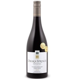 "Australia/New Zealand Wine Omaka Springs Pinot Noir Estates ""Falveys Vineyard"" Pinot Noir Marlborough New Zealand 2012 750ml"