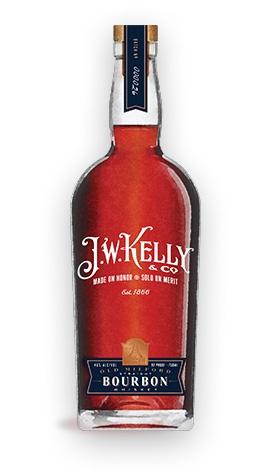 "Bourbon J. W. Kelly ""Old Milford"" Straight Bourbon Whiskey 750ml"