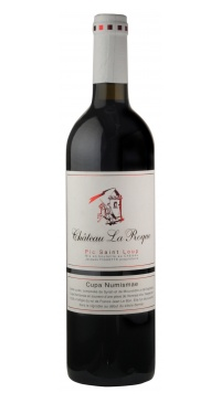 French Wine Chateau La Roque Pic Saint Loup Rouge 2014 750ml
