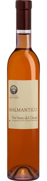 """Dessert Wine San Vito """"Malmantico"""" Vin Santo del Chianti 2011 375ml"""