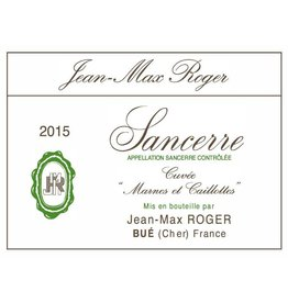 "French Wine Jean-Max Roger Cuvée Marnes et Caillottes"" Blanc 2016 750ml"