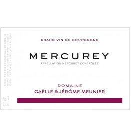 French Wine Domaine Gaelle & Jerome Meunier Mercurey 2015 750ml