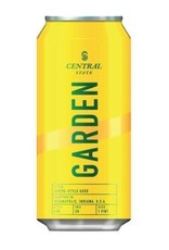"Beer Central State ""Garden"" Leipzig-Style Gose Beer with Lemon Peel 16oz 4pack"