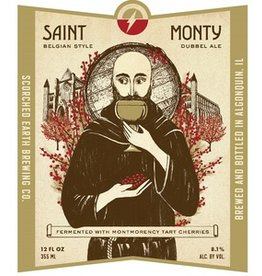 "Beer Scorched Earth Brewing ""Saint Monty"" 4pk"