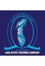 """Beer Lake Effect Brewing Company Inland Sea Series """"Lake Huron"""" Blueberry Berlinerweisse Style Ale 750ml"""