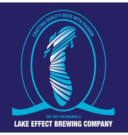 "Beer Lake Effect Brewing Company Inland Sea Series ""Lake Huron"" Blueberry Berlinerweisse Style Ale 750ml"