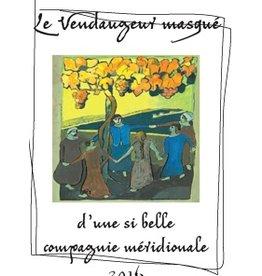 """French Wine De Moor Le Vendangeur Masqué"""" """"d' une si belle compagnie méridionale"""" Vin de France 2016 750ml"""