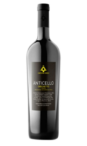 "Italian Wine Cantina Cenci ""Anticello"" Grachetto Umbria Bianco 2015 750ml"