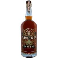 """Rye Whiskey Chicago Distilling Company """"Blind Tiger"""" Straight Rye Whiskey 90 proof 750ml"""