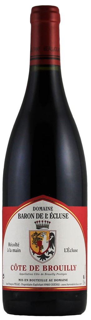 French Wine Domaine de L'Ecluse Cote de Brouilly 2015 750ml