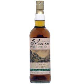 Scotch MacDonald's Glencoe Eight Year Cask Strength Malt Whisky 750ml