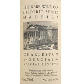 Dessert Wine The Rare Wine Company Historic Series Madeira Charleston Sercial Special Reserve 750ml