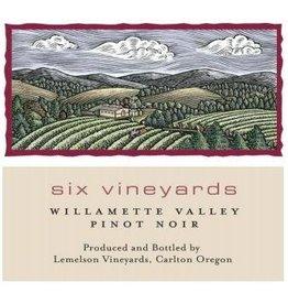 "American Wine Lemelson ""Six Vineyards"" Pinot Noir 2014 750ml"