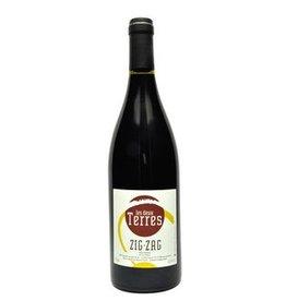 """French Wine Les Deux Terres """"Zig-Zag"""" Vin de France 50% Grenache, 50% Syrah Rouge"""