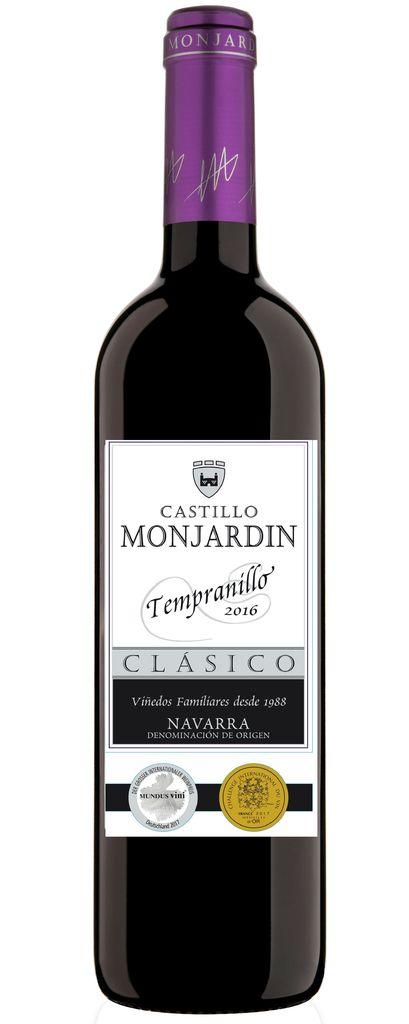 Spanish Wine Castillo Monjardin Tempranillo Navarra 2014 750ml
