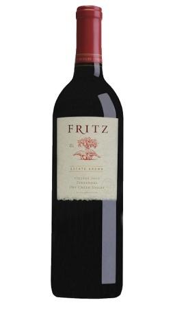 American Wine Fritz Winery Zinfandel Dry Creek Valley