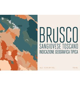 Italian Wine Brusco Sangiovese Toscano 2016 750ml