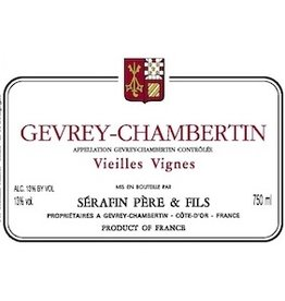 French Wine Serafin Gevrey-Chambertin 2004 750ml