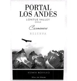South American Wine Portal los Andes Carmenere Reserva Lontué Valley Chile 2013 750ml