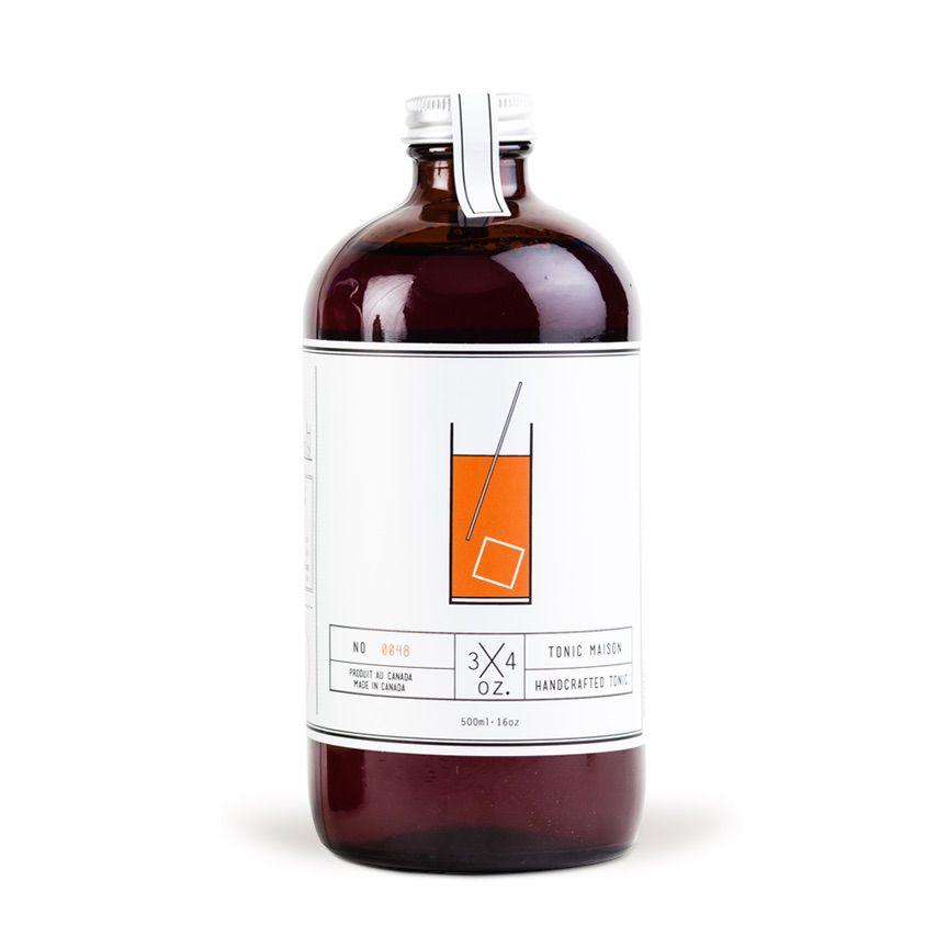 Mixer 3/4 OZ. Tonic Syrup 17oz