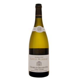 "French Wine Domaine Louis Moreau Chablis Grand Cru ""Les Clos"" 2014 750ml"