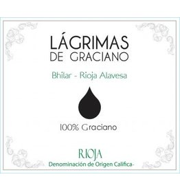Spanish Wine Bodegas Bhilar Lagrimas de Graciano 2016 750ml