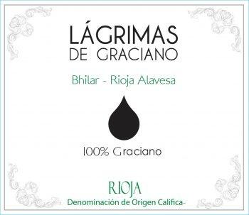 Spanish Wine Bodegas Bhilar Lagrimas de Graciano 2016 750ml