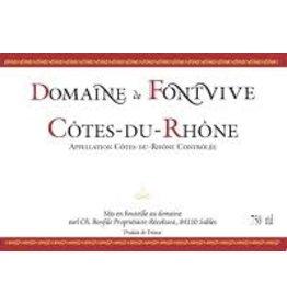 French Wine Domaine de Fontvive Cotes du Rhone Rouge 2016 750ml