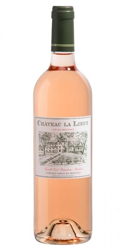 French Wine Chateau La Lieue Rosé Coteaux Varois en Provence 2017 1.5L MAGNUM