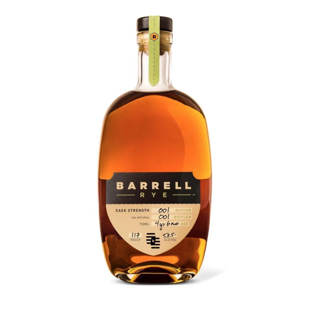 Rye Whiskey Barrell Rye Batch #1 Cask Stength 58.5% 750ml