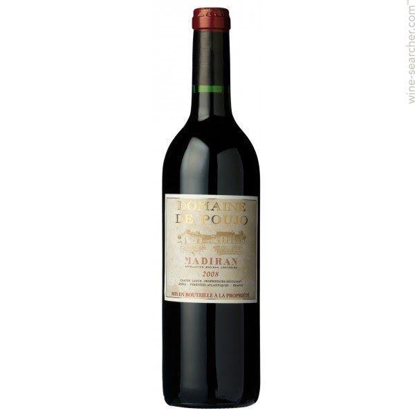 French Wine Domaine de Poujo Madiran 2011 750ml