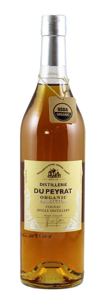 "Brandy Distillerie du Peyrat Organic ""Selection"" Cognac 750ml"
