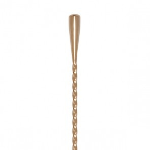 Miscellaneous Cocktail Kingdom Teardrop Barspoon 40cm (Gold Plated)