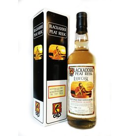 Scotch Blackadder Peat Reek Raw Cask Exclusively Selected by The GuilD 60.3% abv Hogshead Cask # PR2018-2 750ml