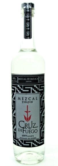Tequila/Mezcal Cruz de Fuego Espadin Mezcal 750ml
