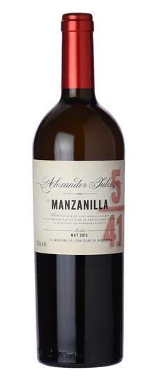 Sherry Alexander Jules Manzanilla Sherry 5/41 750ml