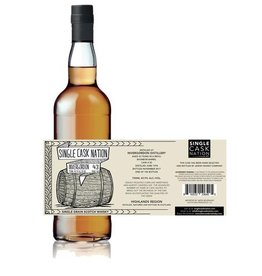 Scotch Single Cask Nation Invergordon 43 Year Single Grain Scotch Whisky Cask #20 196 bottles produced 750ml