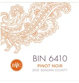 "American Wine Bennett Valley Cellars ""Bin 6410"" Pinot Noir Sonoma County 2016 750ml"