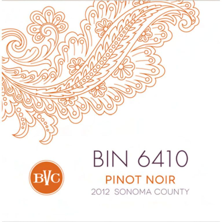 "American Wine Bennett Valley Cellars ""Bin 6410"" Pinot Noir Sonoma County 2016 750ml"