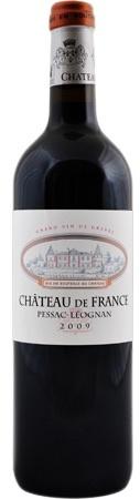 French Wine Chateau de France Pessac-Leognan 2010 750ml