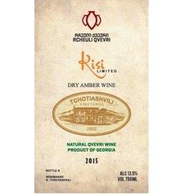 Eastern Euro Wine Tchotiashvili Vineyards Kisi Dry Amber Wine Georgia 2015 750ml