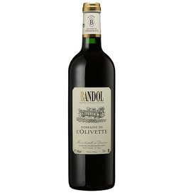 French Wine L'Olivette Bandol Rouge 2009 750ml