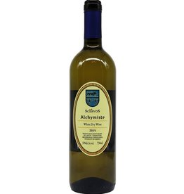 "Greek Wine Sclavos ""Alchymiste"" White Dry Wine   2015 750ml"
